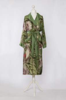 Passion flower green gown 1