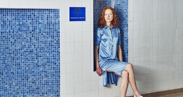 Atelier morganmarsh pale blue silk