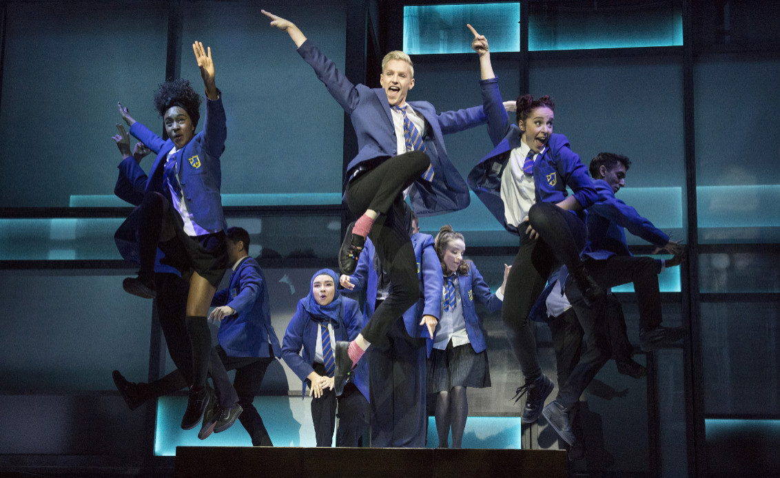 Cast of everybody's talking about jamie at the apollo theatre. photos by alastair muir