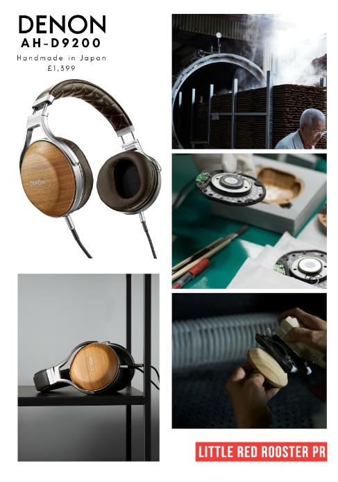 Denon ah d9200 wood headphones