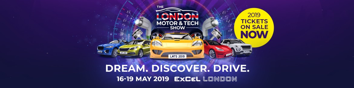 Drivetribe london motor & tech show