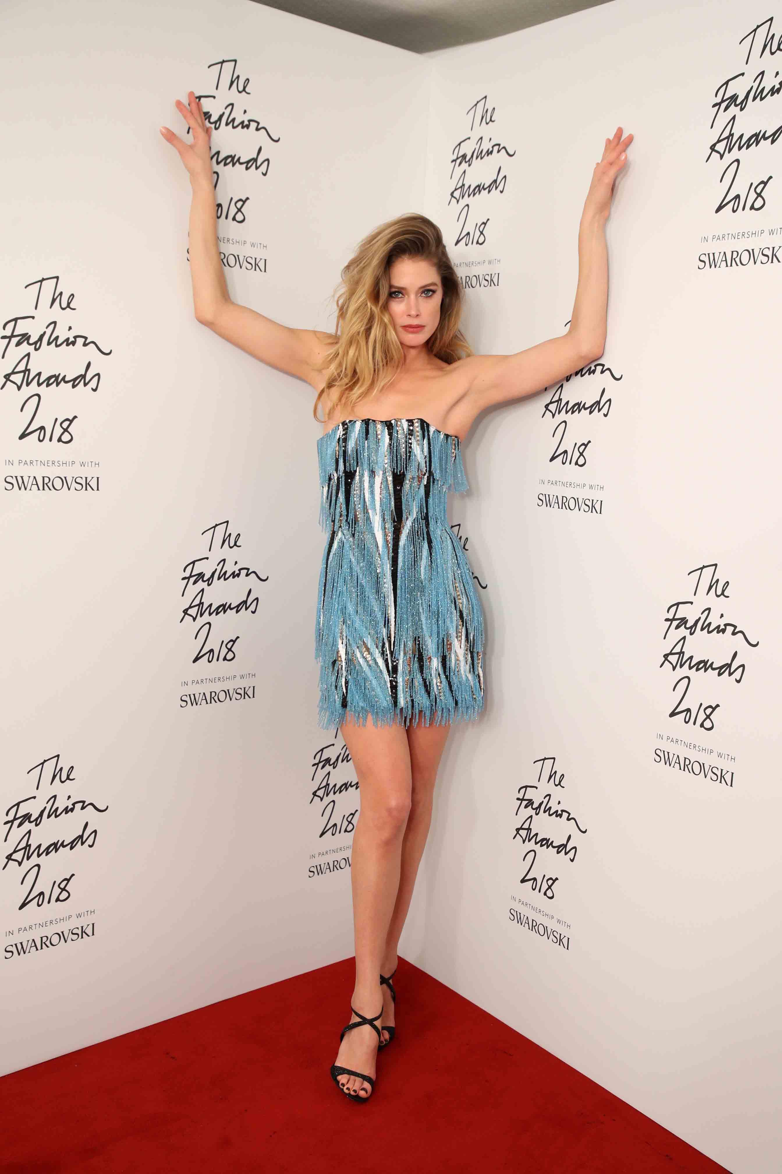 The fashion awards 2018 in partnership with swarovski winners room