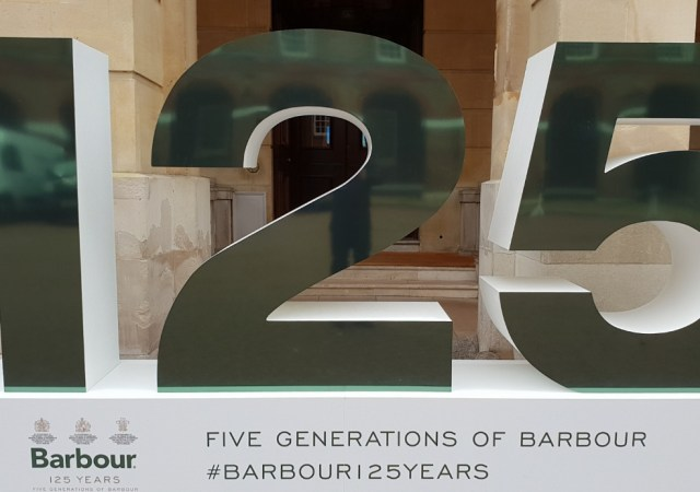 Barbour celebrates its 125th anniversary