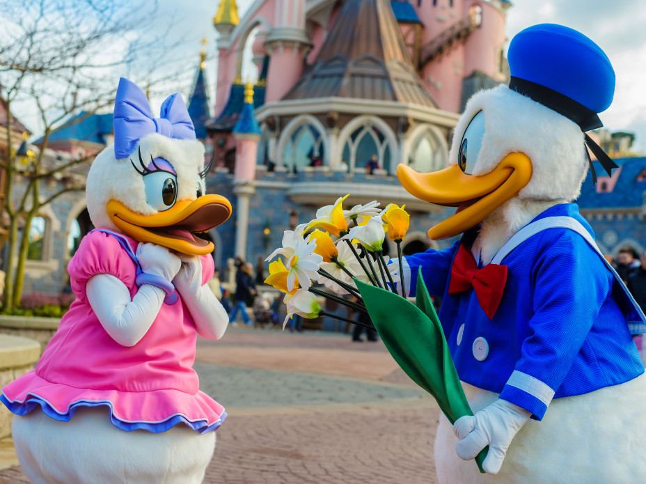 Valentine's day at disneyland paris
