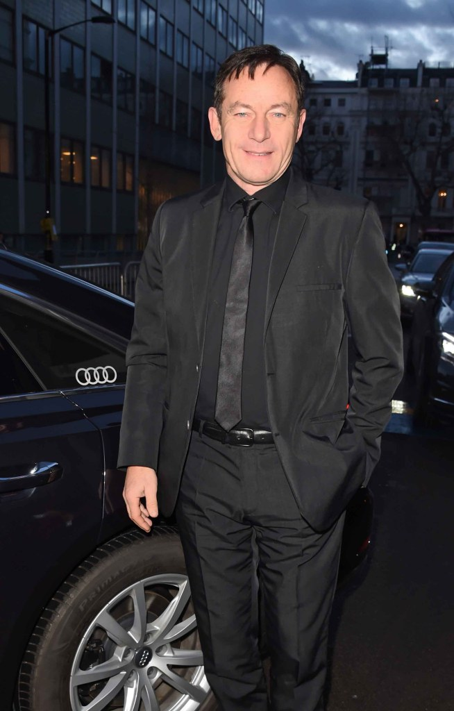 Jason isaacs arrives in an audi at the ee british academy film awards at the royal albert hall, london, sunday 10 february 2019 (2)