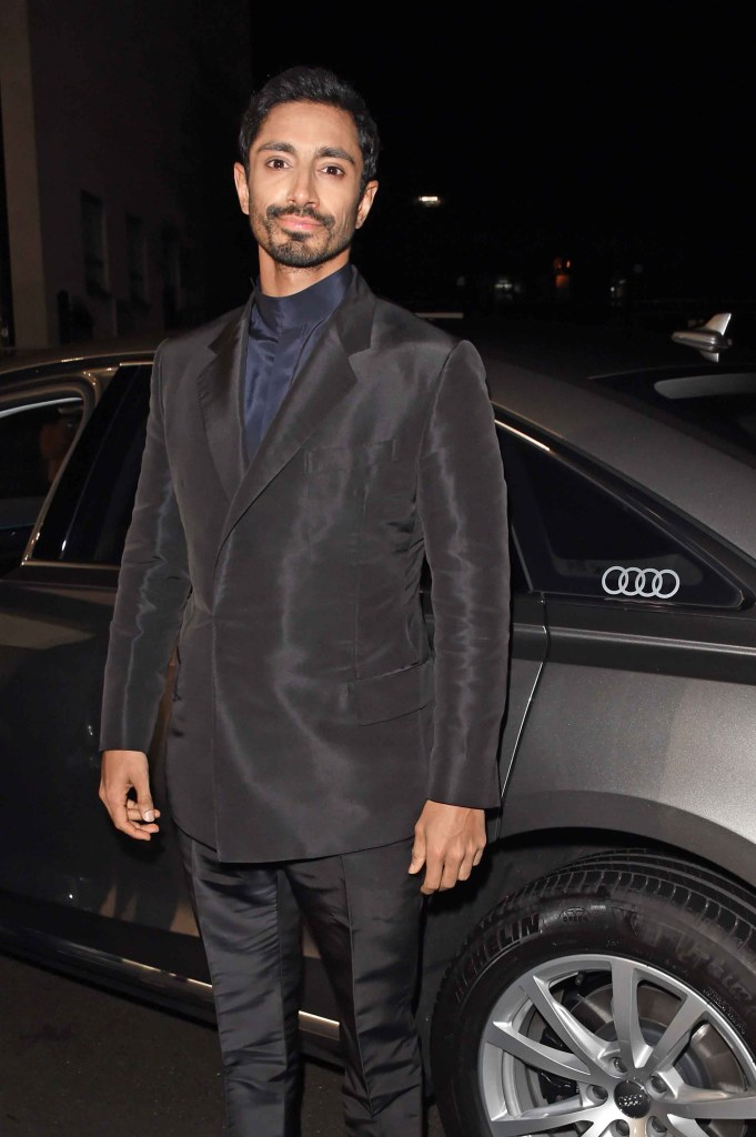 Riz ahmed arrives in an audi at the ee british academy film awards at the royal albert hall, london, sunday 10 february 2019