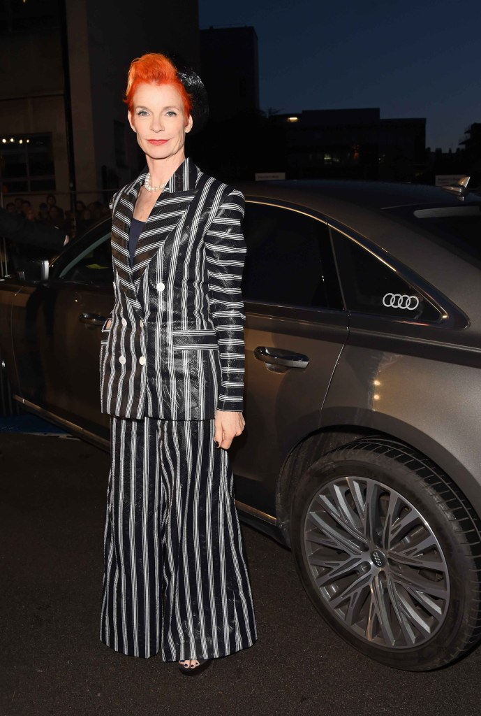 Sandy powell arrives in an audi at the ee british academy film awards at the royal albert hall, london, sunday 10 february 2019 (2)