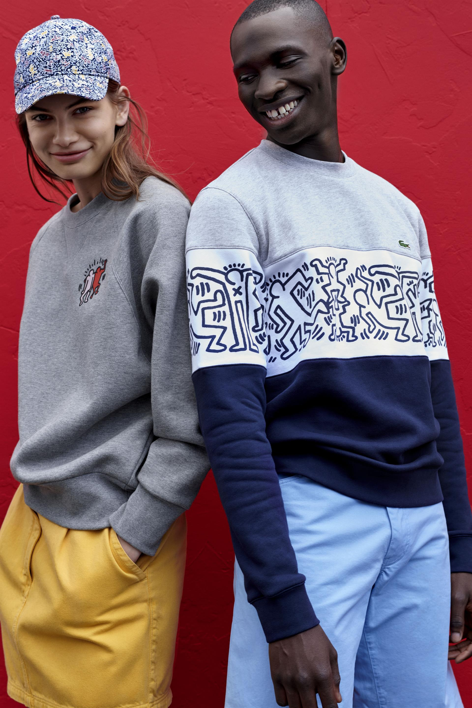 feed1c64 Lacoste Pays Tribute to Artist to Keith Haring With New Collection