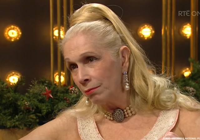 Royal biographer and gender bender socialite lady colin campbell treads the russian red carpet