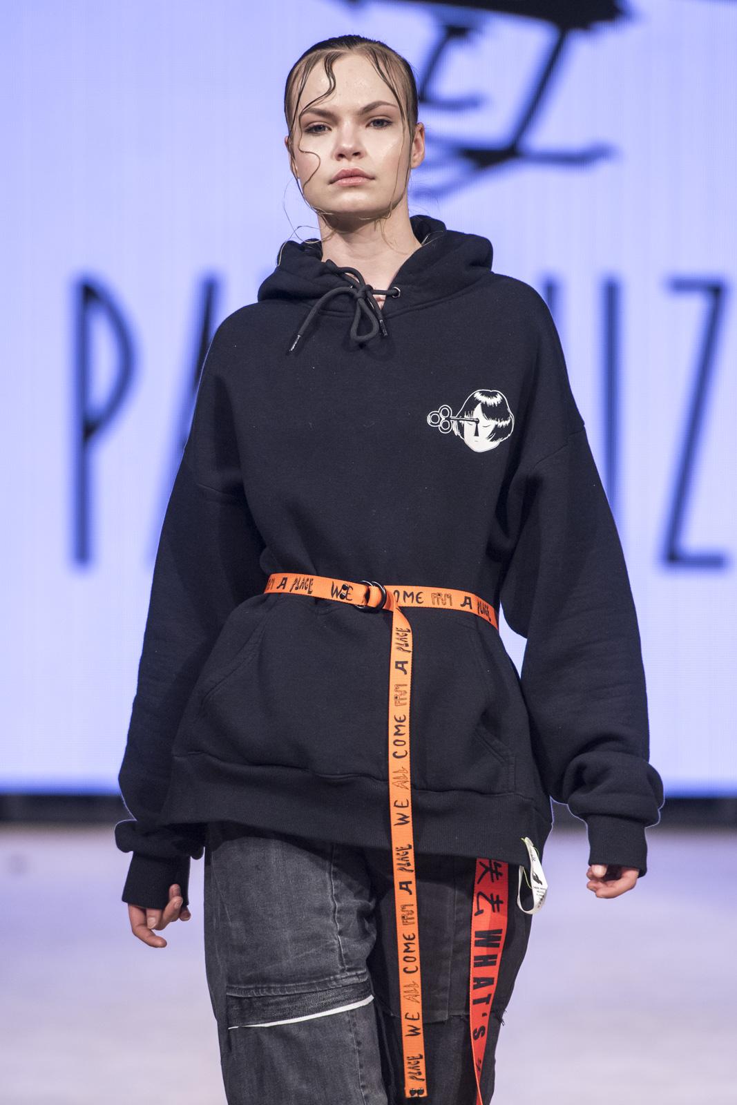 Pat Guzik at Vancouver Fashion Week