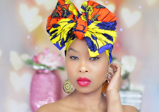 Royal head wraps representing uk at africa fashion week