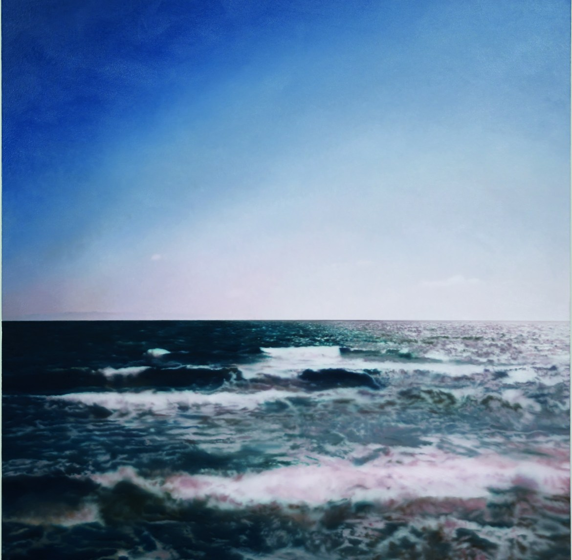 Gerhard richter. seascapes