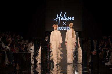 Halima x modanisa at istanbul modest fashion week 2019 day 1