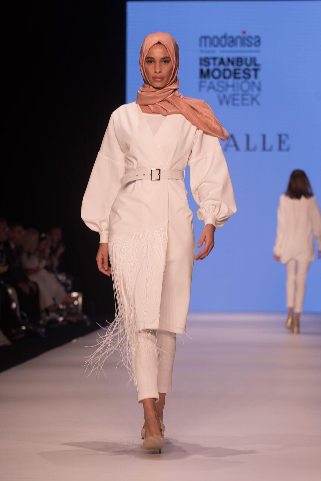 Mizalle at istanbul modest fashion week 2019 day 2