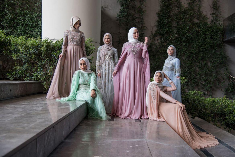 Saiqa majeed at istanbul modest fashion week 2019 day 2