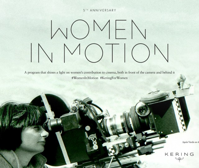 The cannes film festival will present the fifth women in motion award