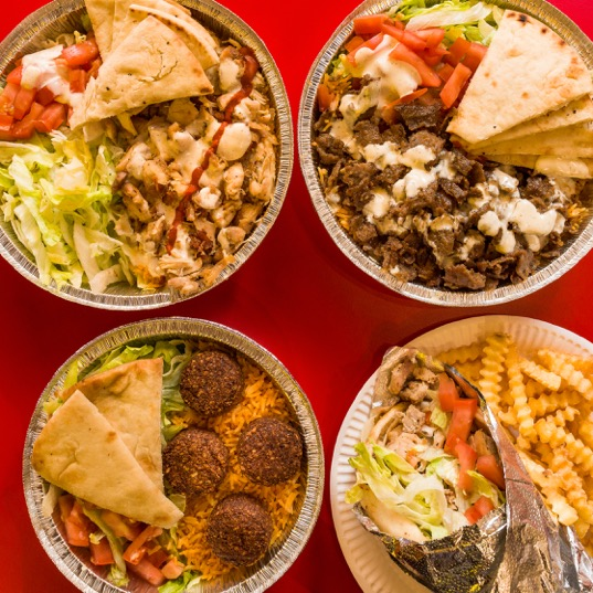 The halal guys food