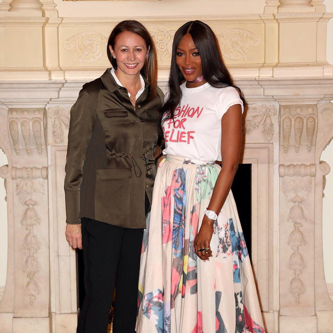 Naomi campbell fashion icon award 2019