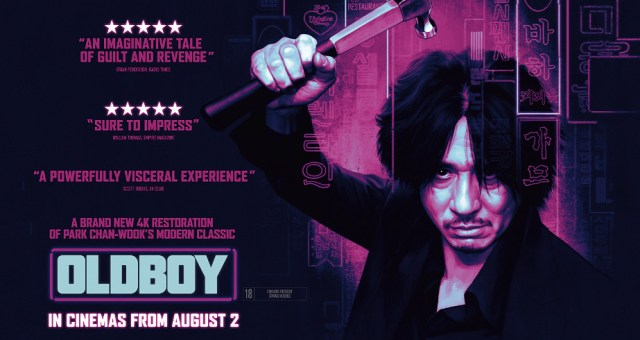 Oldboy, releases again on the big screen