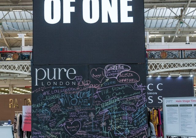 Power of one pledge wall