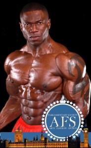 Wole adesemoye world champion fitness stamped