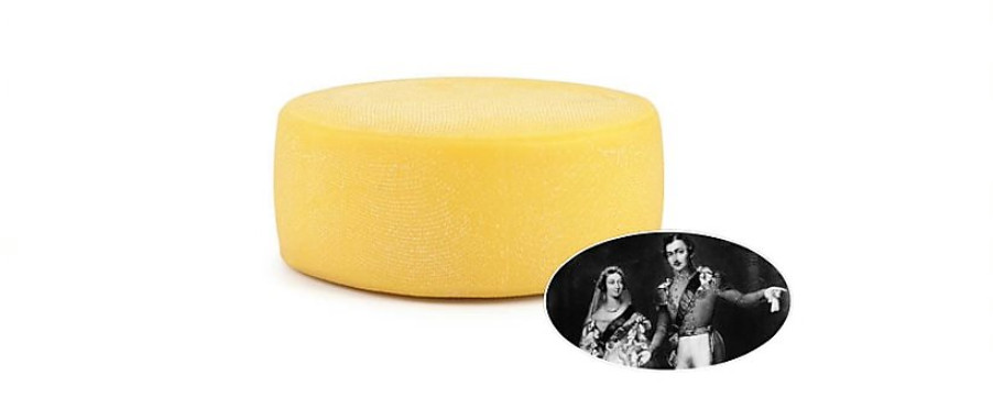 1840 queen victoria and prince albert got gifted a 1,000 pound cheese wheel