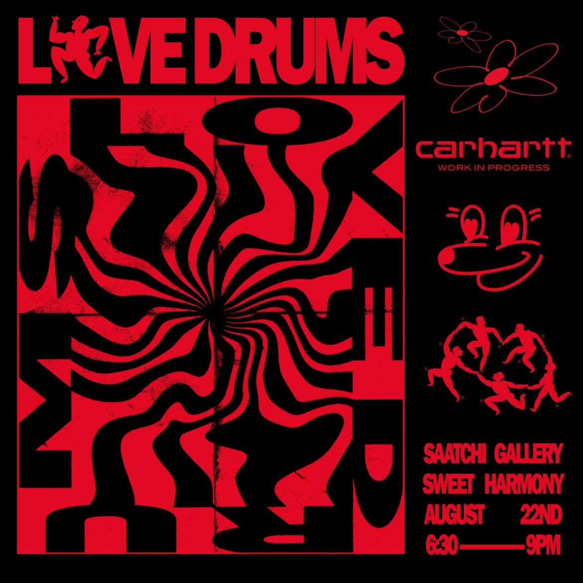 Love drums saatchi gallery lates