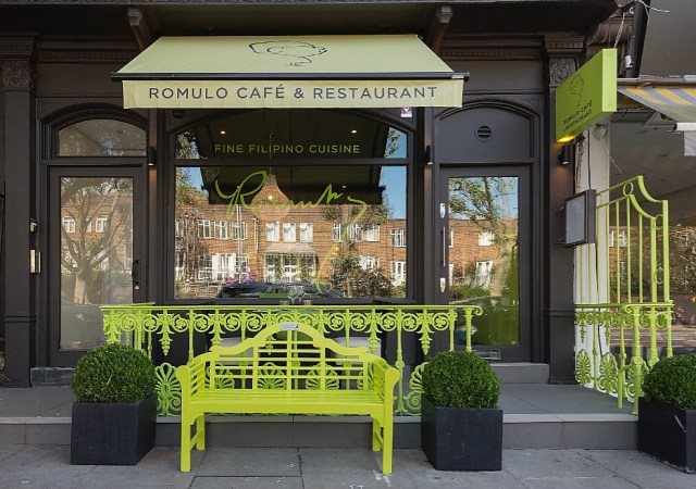 Romulo café london