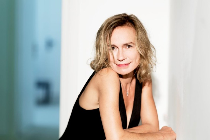 Sandrine bonnaire, president of the jury of the 30th dinard film festival