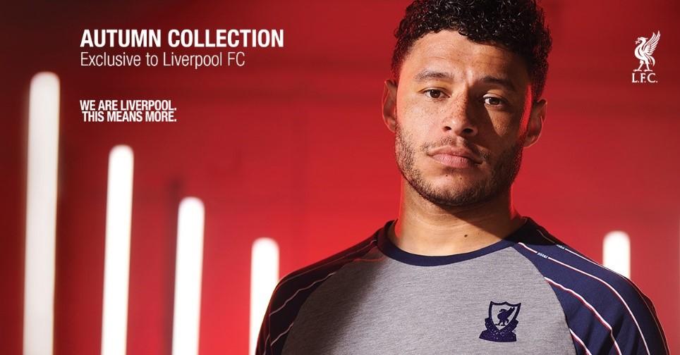 Liverpool fc autumn fashion collection