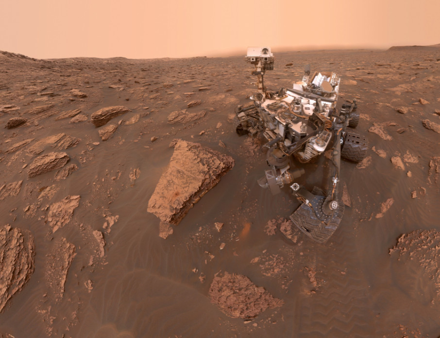 Become immersed 'on mars today'