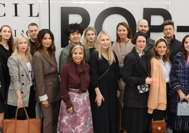 British fashion council designer pop up
