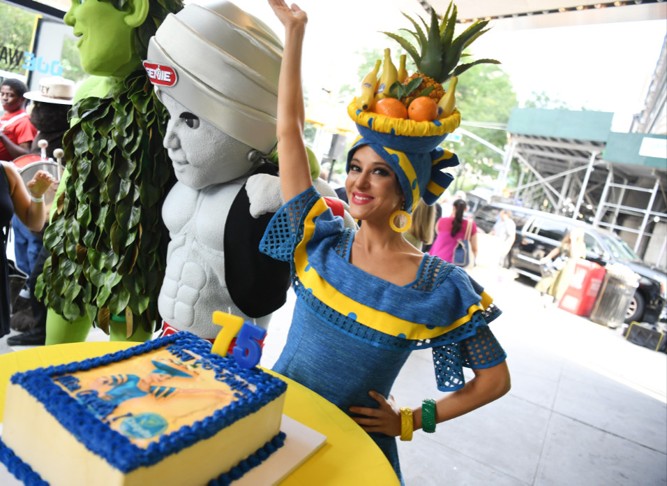 Miss chiquita is celebrating her 75th birthday