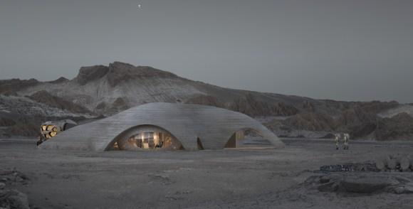 Step inside a full scale mars pod