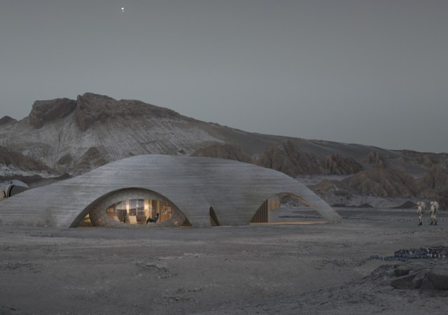 Step inside a full scale mars pod