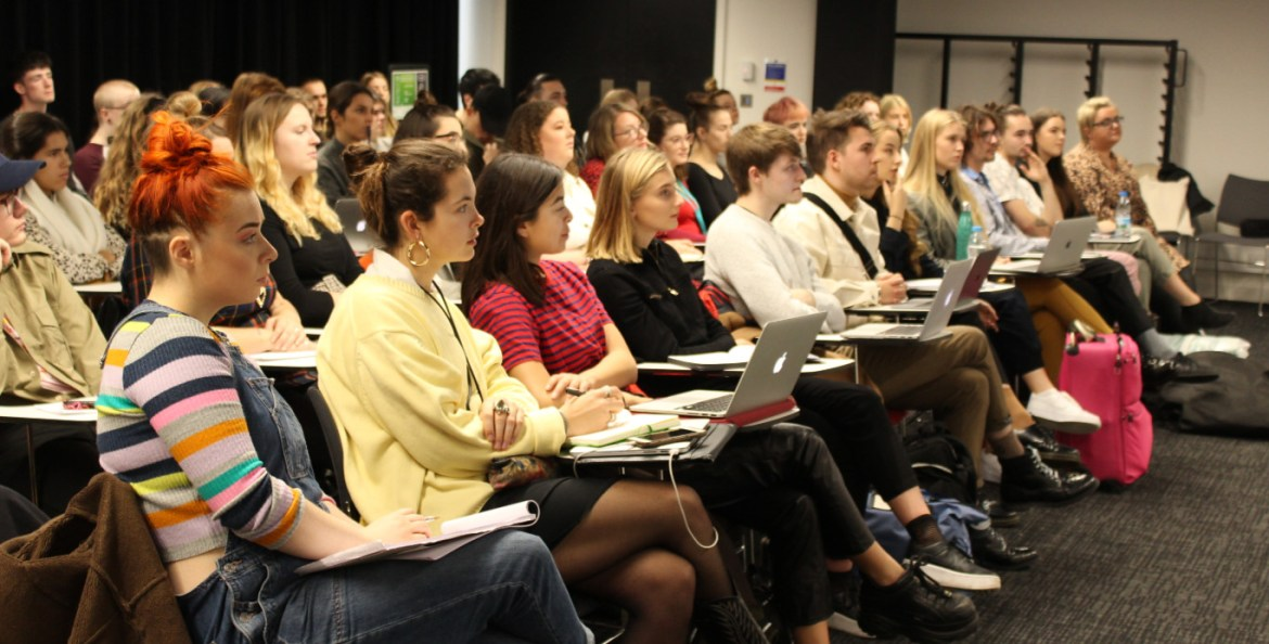 Graduate fashion foundation hold uk & international masterclasses 2019