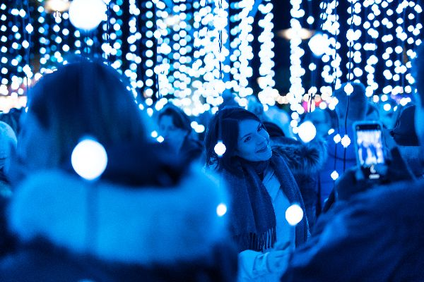 Bristol's free interactive light show launches
