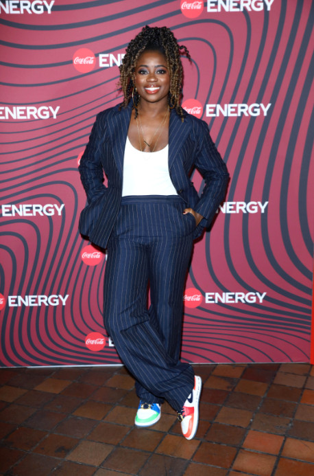 Clara Amfo attend Coca-Cola Energy event in London