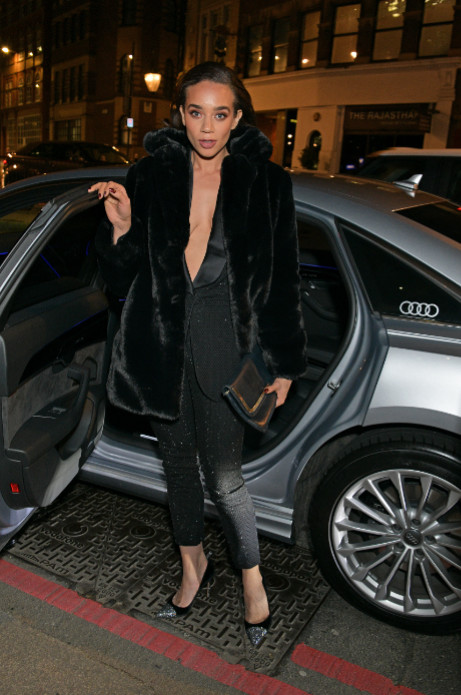 Hannah john kamen arrives in an audi at the british independent film awards at old billingsgate, london, on sunday 01 december 2019