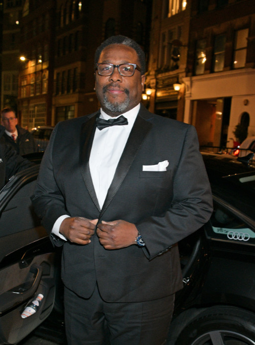 Wendell pierce arrives in an audi at the british independent film awards at old billingsgate, london, on sunday 01 december 2019 (2)