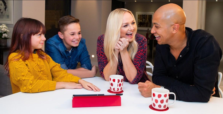 Emma bunton vodafone digital family pledge