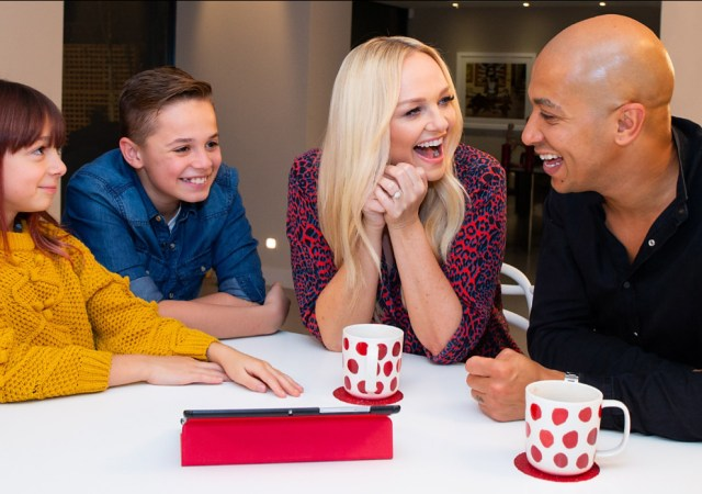 Emma bunton vodafone digital family pledge