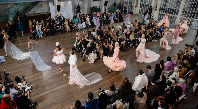 Atelier zuhra x royal opera house london fashion week