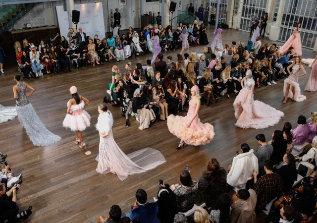Atelier zuhra x royal opera house london fashion week