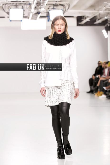 Johan ku aw20 show during london fashion week