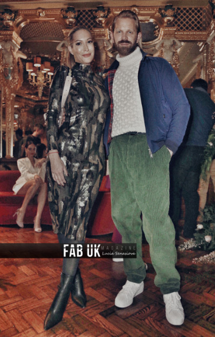 Lu vixen presents for the first time during london fashion week (7)