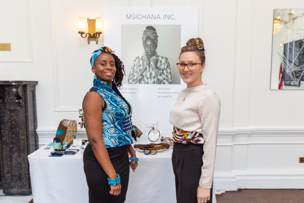 Msichana inc aw20 during london fashion week