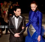 Malan breton aw20 show during london fashion week