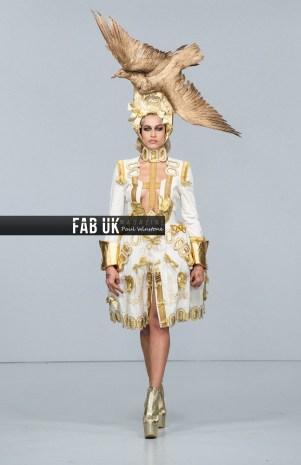 Pam hogg aw20 show during london fashion week (1)