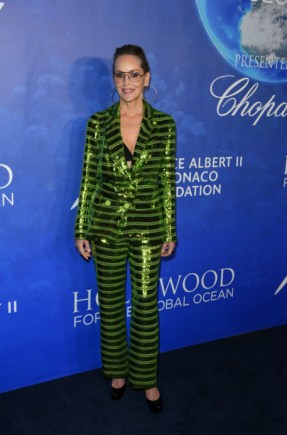 Uma thurman, sharon stone, and more attend 2020 hollywood for the global ocean gala (19)
